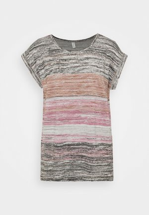 GALINA - T-shirt med print - dark pink rose