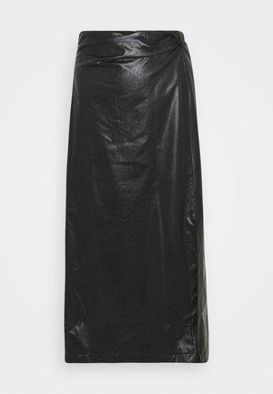 SILVA - Jupe longue - black