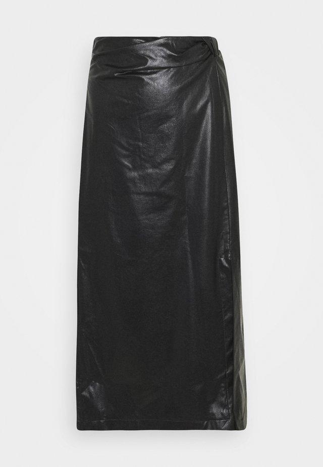 SILVA - Falda larga - black