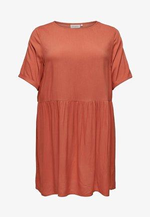 LOCKERES CURVY - Robe d'été - light red