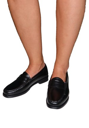 Slip-ons - black leather
