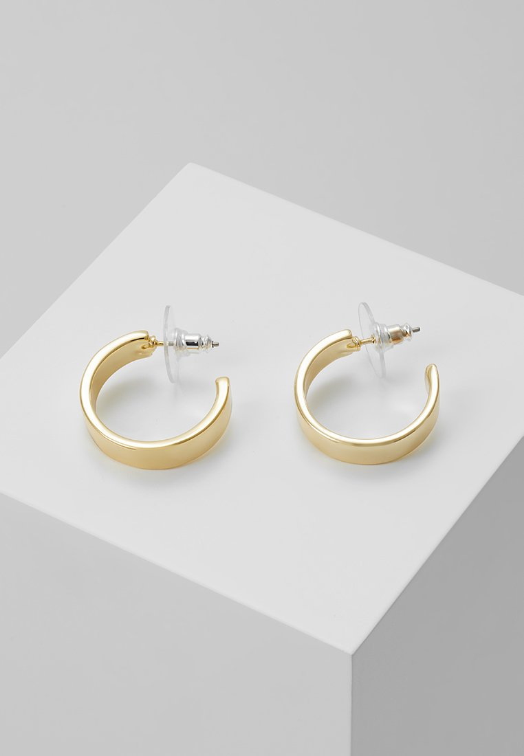 SNÖ of Sweden - CARRIE EAR PLAIN - Pendientes - gold-coloured