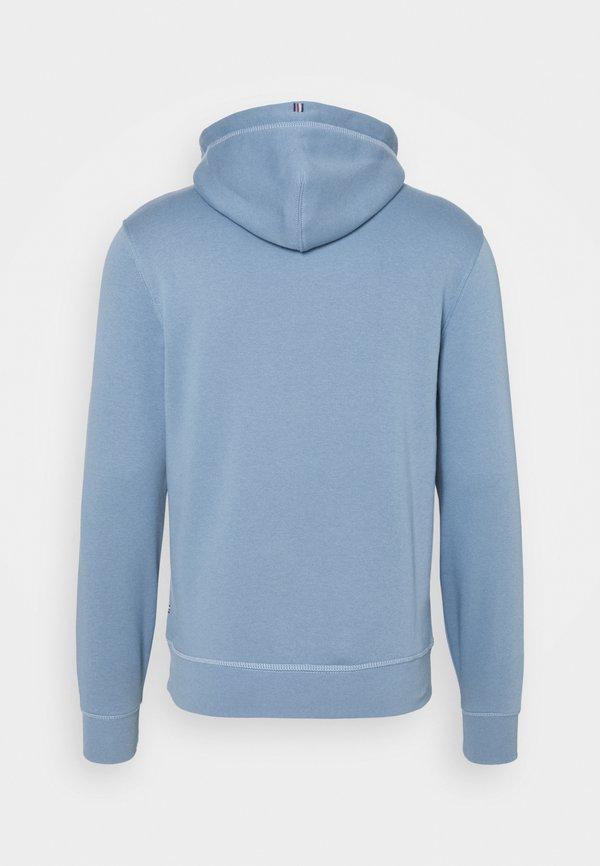 Tommy Hilfiger STACKED FLAG HOODY - Bluza - colorado indigo/niebieski Odzież Męska TZCC
