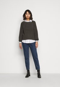 New Look Petite - FASHIONED JUMPER - Svetr - mid grey - 1