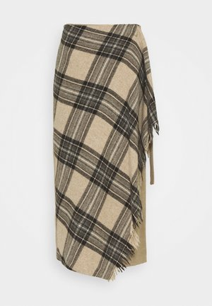 PIGNA - Áčková sukně - beige