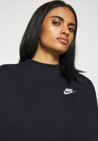 Nike Sportswear - MOCK - Sweatshirt - black/white - 5