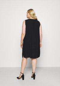 MY TRUE ME TOM TAILOR - FLUENT - Day dress - deep black - 2