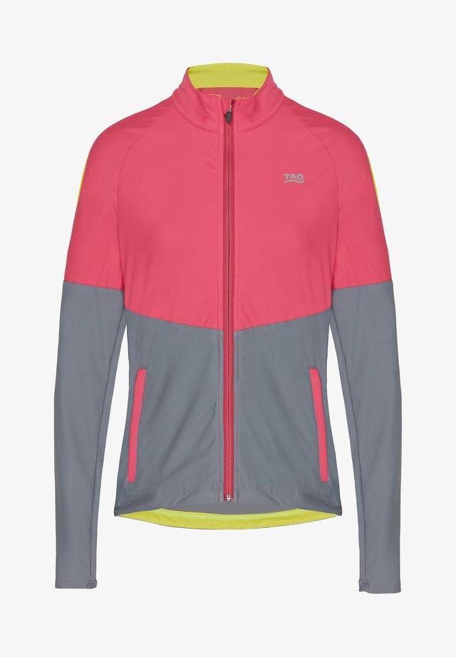 ATTINA - Training jacket - art deco/steel