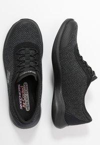Skechers - ENVY - Mocasines - black/charcoal - 3