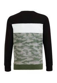 WE Fashion - MET DESSIN - Top sdlouhým rukávem - green - 4