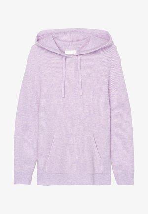 Hoodie - multi/peached purple
