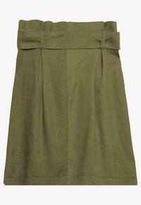 Gerry Weber Casual - GEWEBE KURZ - A-line skirt - olive branch - 1