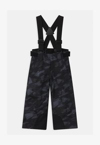 Ziener - ARISU UNISEX - Snow pants - black mountain - 0