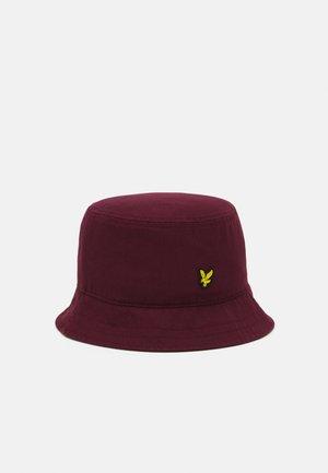 BUCKET HAT UNISEX - Hat - burgundy