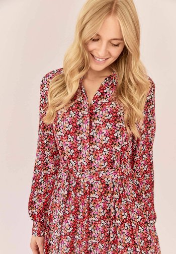 MILLEFLEUR - Shirt dress - burgund