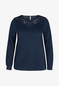 Zizzi - Sweatshirt - blue - 3