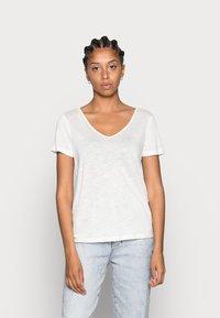 Vila - VINOEL  - Basic T-shirt - cloud dancer - 0