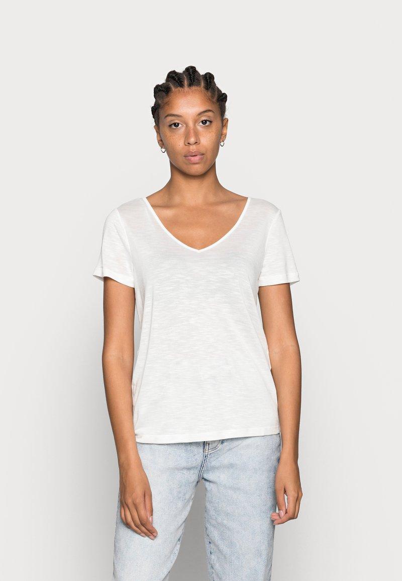 Vila - VINOEL  - Basic T-shirt - cloud dancer