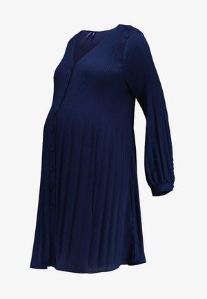 BRONA - Žerzejové šaty - navy