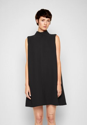 SLEEVELESS MINI SHIFT DRESS - Koktejlové šaty/ šaty na párty - black