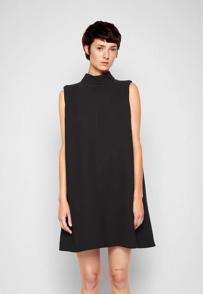 Victoria Victoria Beckham - SLEEVELESS MINI SHIFT DRESS - Sukienka koktajlowa - black