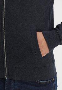 Farah - KYLE HOODIE - Zip-up hoodie - true navy marl - 3