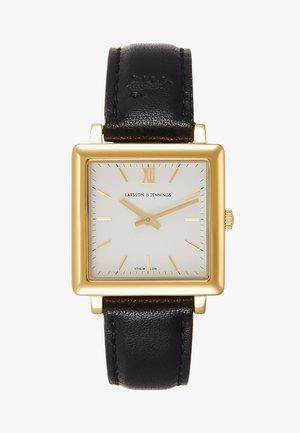 NORSE - Reloj - black/gold-coloured/white