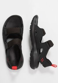 The North Face - M HEDGEHOG SANDAL III - Vaellussandaalit - black/asphalt grey - 1