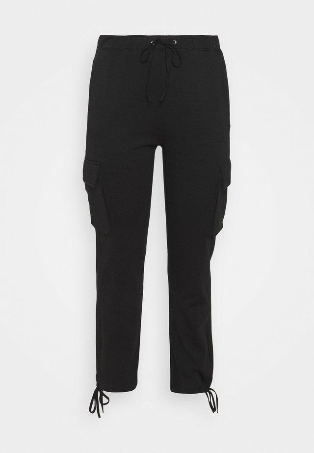 VMANE - Trousers - black