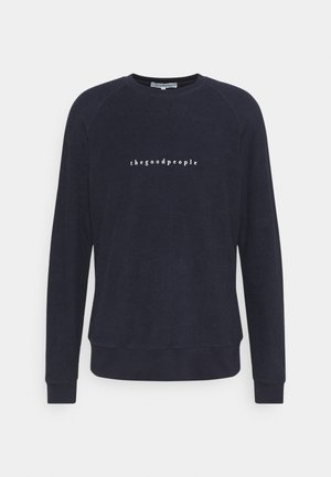 LUIS - Fleece jumper - navy