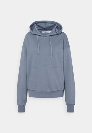 BASIC FRONT POCKET HOODIE - Sweatshirt - blue