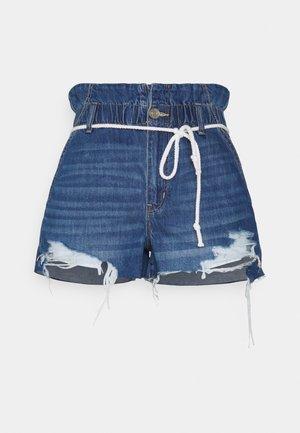 MOM  - Denim shorts - dreamy indigo