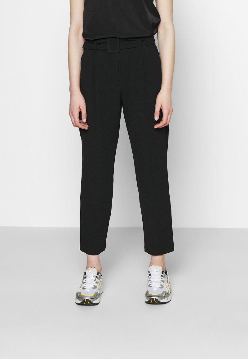 JDY - JDYXANDER ANKLE PANT  - Trousers - black