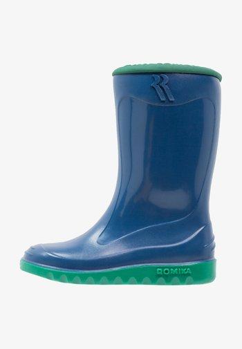 LITTLE BUNNY - Wellies - blau/minze