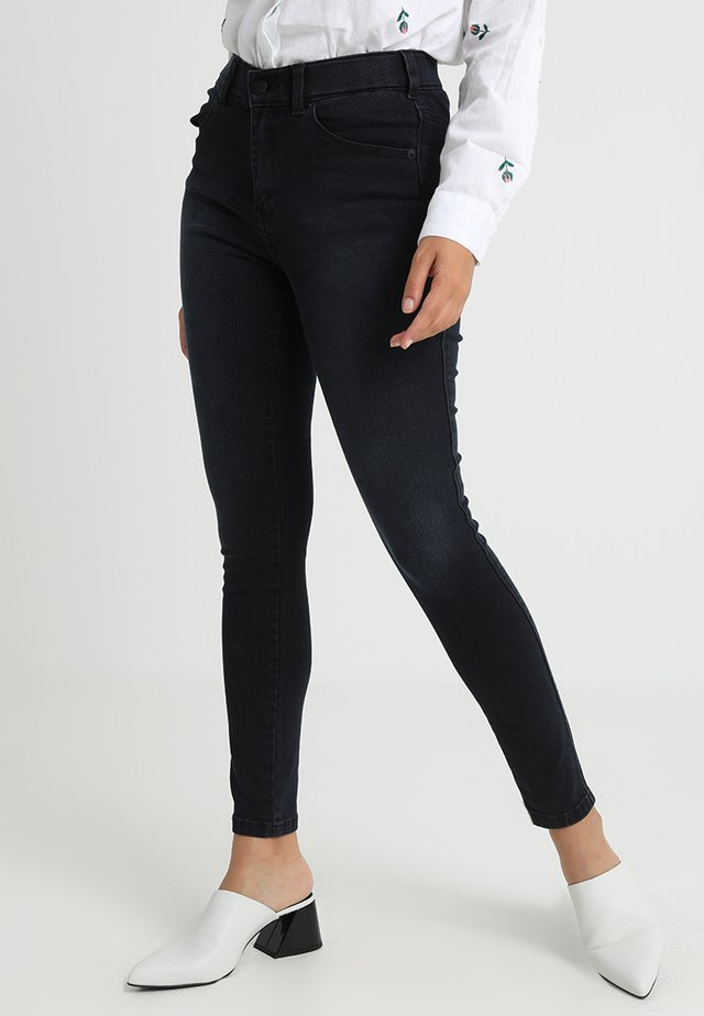 LEXY - Jeansy Skinny Fit - pitch dark blue