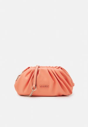 HANDBAG CENTRAL CITY - Clutch - coral