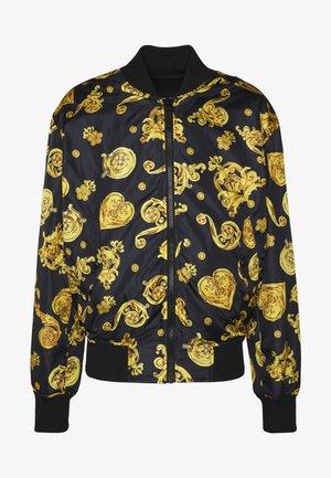 ALLOVER GIOIELLI REVERSIBLE - Summer jacket - black