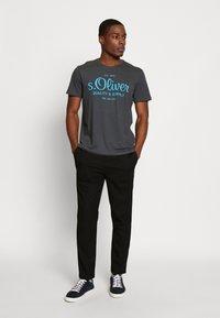 s.Oliver - Print T-shirt - volcano - 1