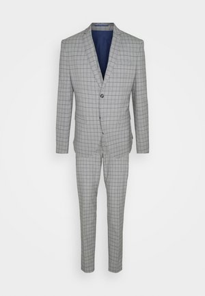THE FASHION SUIT PIECE CHECK - Kostym - grey
