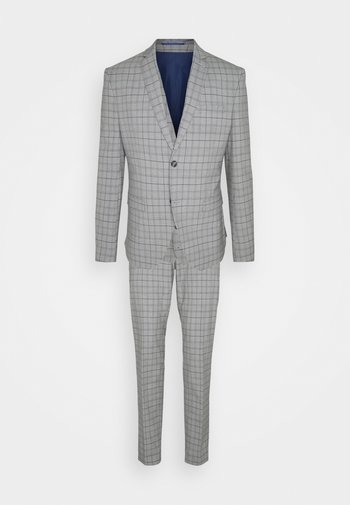 THE FASHION SUIT PIECE CHECK - Completo - grey