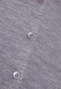 Filippa K - SHORT CARDIGAN - Cardigan - mid grey melange - 4