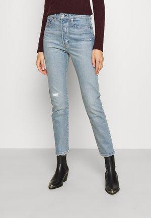 CALLEN - Slim fit jeans - light indigo