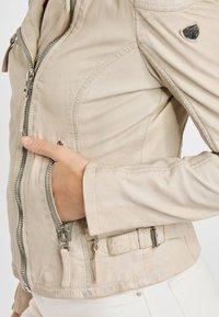 Gipsy - PGG LABAGV - Leather jacket - off white - 4