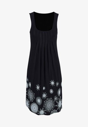 Day dress - schwarz-weiß