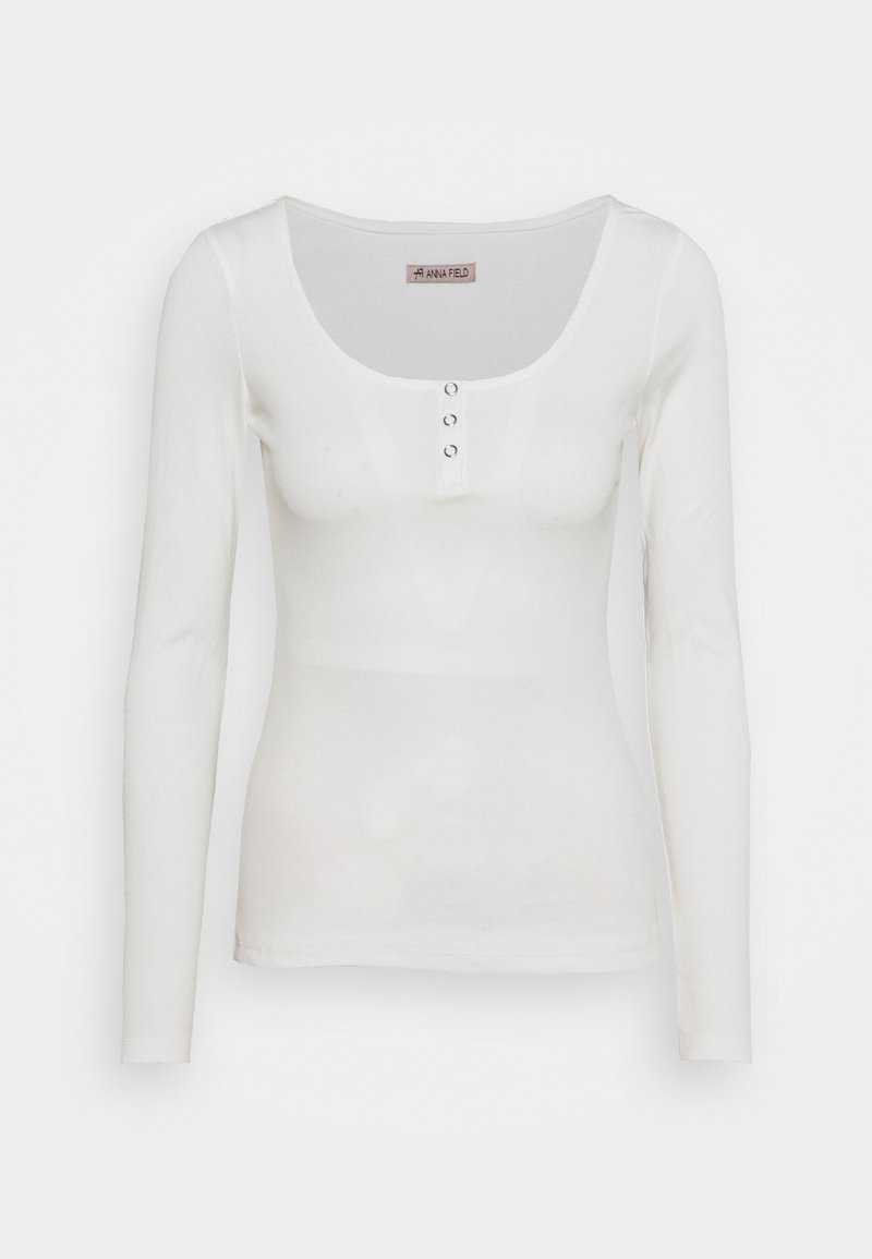 Anna Field - Long sleeved top - white