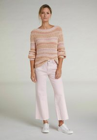 Oui - Jumper - white red - 1