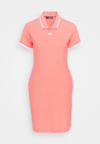 GOLF DRESS - Sports dress - tropical coral