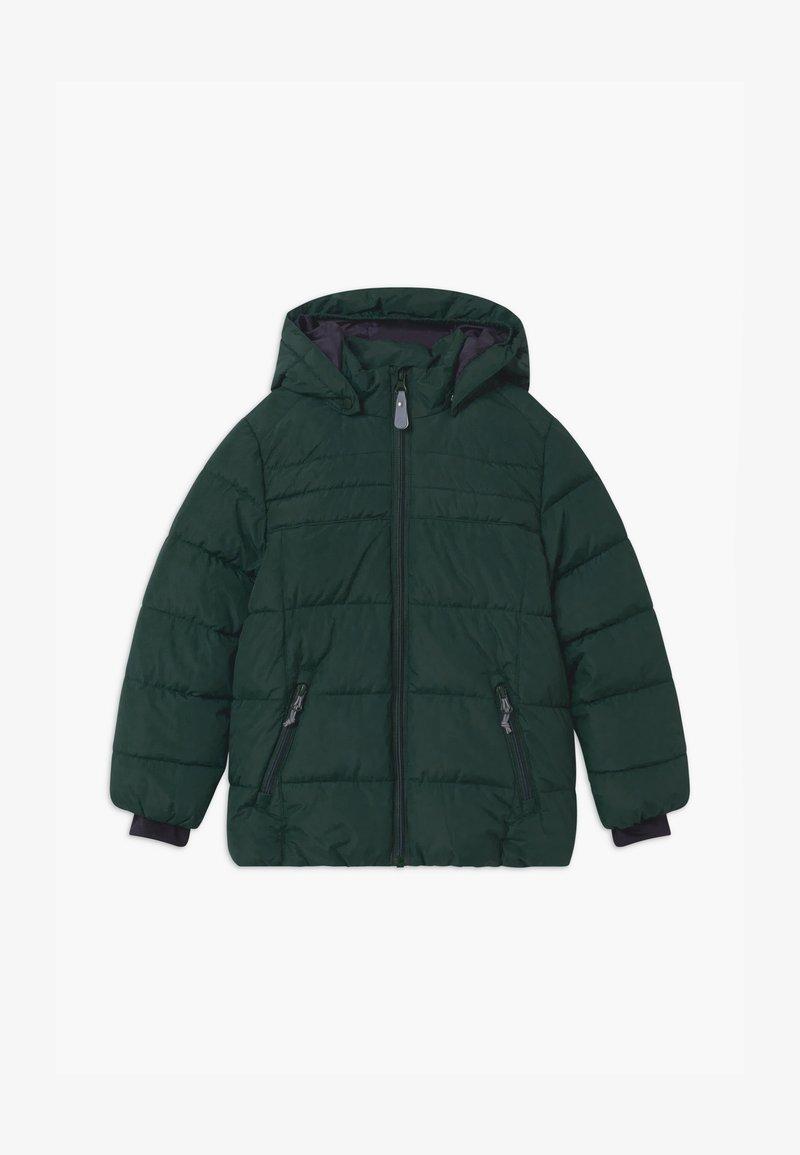 Color Kids - SHORT QUILTED UNISEX - Snowboardová bunda - green gables