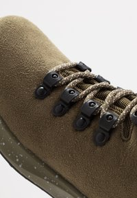 Native - APEX  - Lace-up ankle boots - utili green - 5