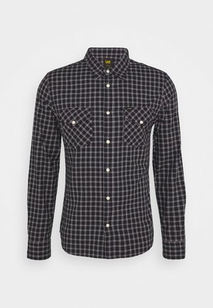 CLEAN WESTERN SHIRT - Camicia - sky captain